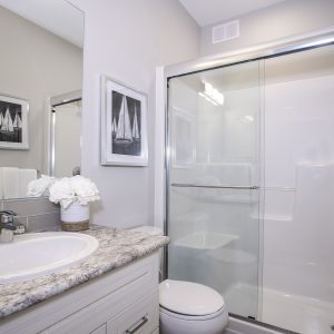 Edgemont B-18 interior bathroom