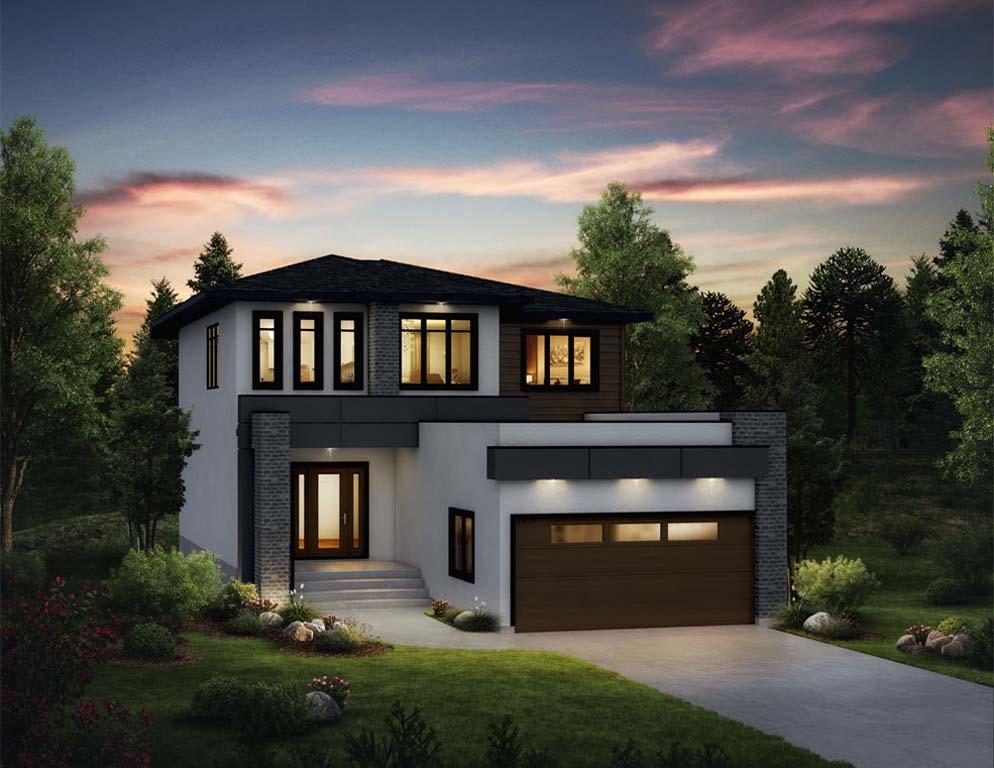 Prairie Pointe - Stonecliffe B rendering