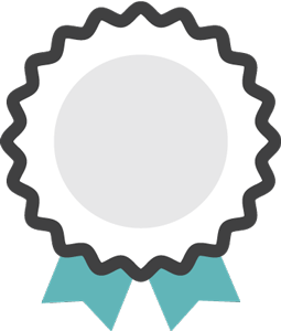 icons of a prize ribbon