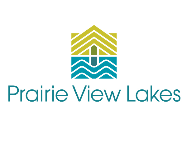 Prairie View Lakes square logo
