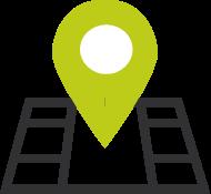 icon - location pin on neighbourhood map