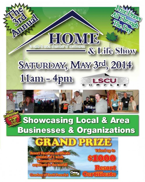 VLC-Home and Life Show Flyer-Building Lots For Sale-Apr29,14